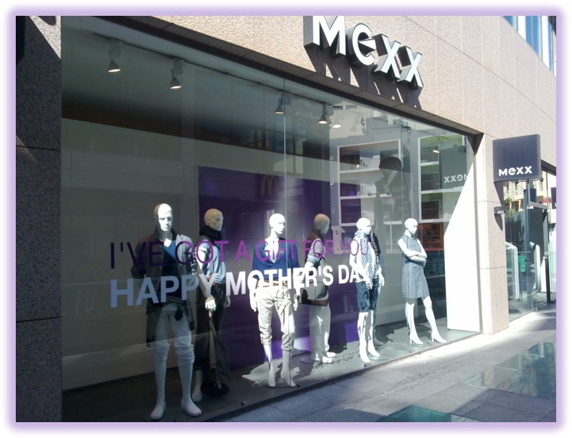 The launch of the Mexx flagship store