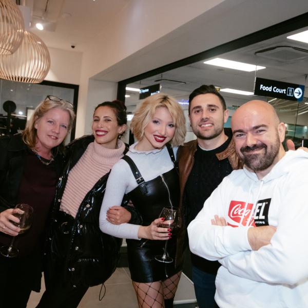 Renee Micallef Decesare, Caroline Paris, Sarah Zerafa, David Vella, Kurt Paris